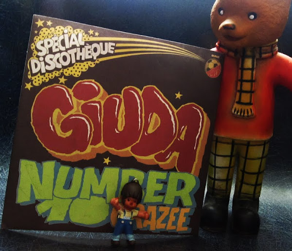 GIUDA - Crazee - number 10 2010 glam rock punk Surfin'Ki records