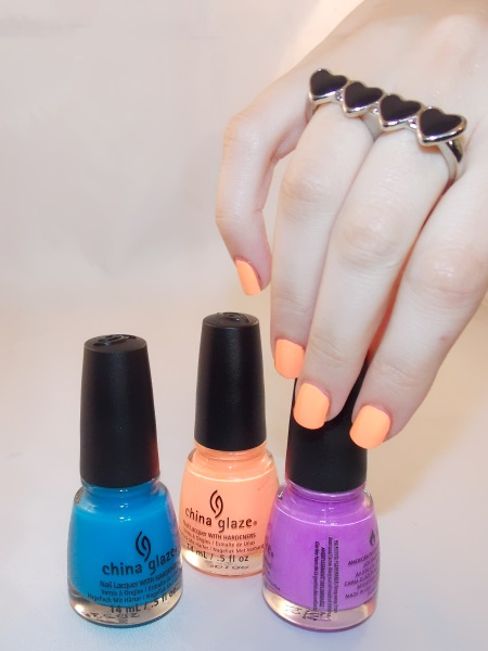 Beauté blog blogueuse psychosexy tendance summer 2013 vernis nail art china glaze sun of a peach nailstorming 8