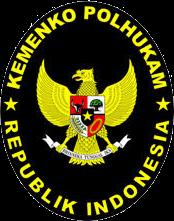 Logo Kementerian Koordinator Bidang Politik, Hukum, dan Keamanan Indonesia  [Kemenkopolhukam]