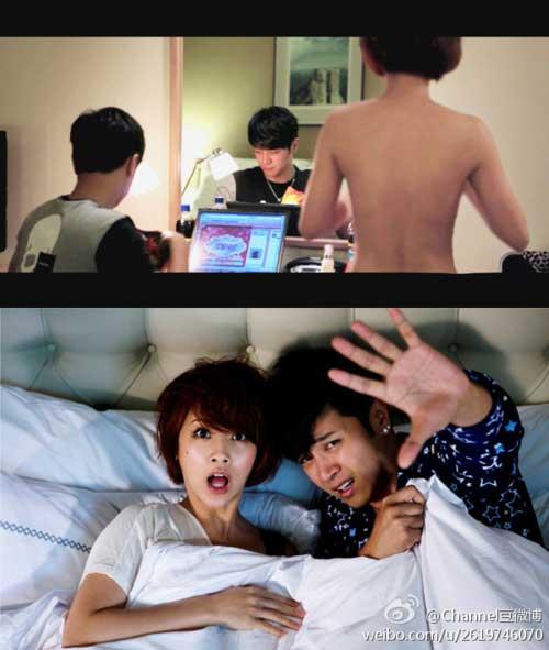 Artis Taiwan Rainie Yang Topless Dalam Film 'Heartbeat Love'