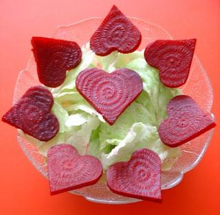 Ensaladas Romanticas, Ideas para la Cena de San Valentin