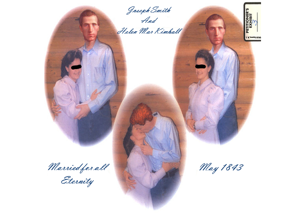 Joseph Smith - Helen Mar Kimball Wedding Announcement