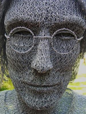 alambre esculturas