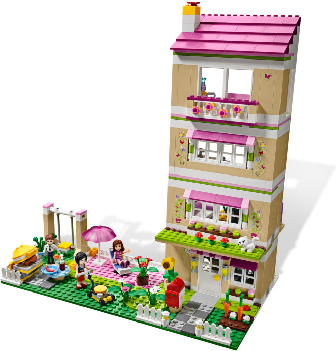 brick friends lego friends 3315 olivia s house. Black Bedroom Furniture Sets. Home Design Ideas