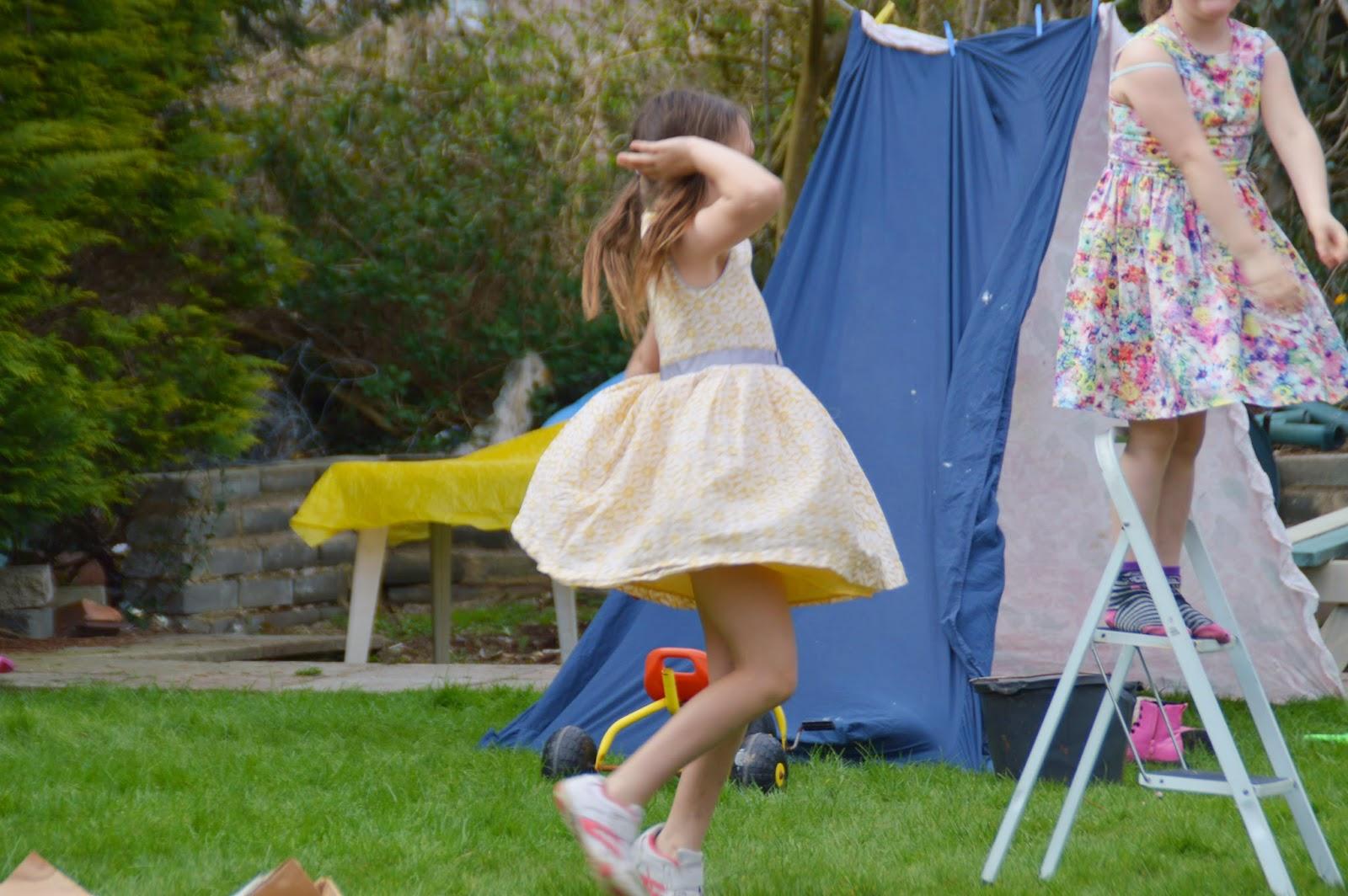 Garden Easter Egg Hunt and BBQ 2015