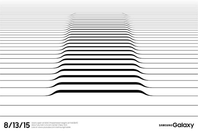Samsung kirim undangan perilisan perangkat baru tanggal 13 Agustus, mungkinkah Galaxy S6 Edge plus?