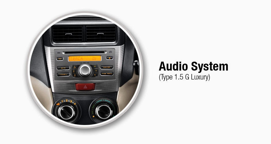 Audio Systen Avanza