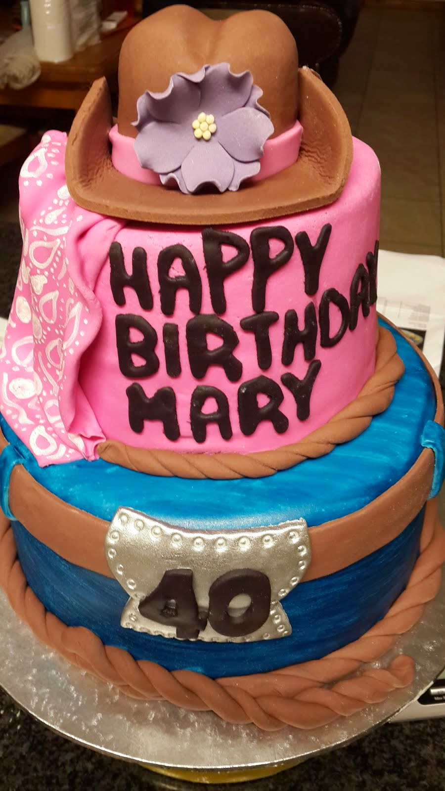 Mary's Cow Girl Cake