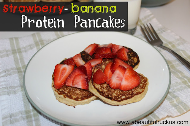 kid friendly protein pancakes