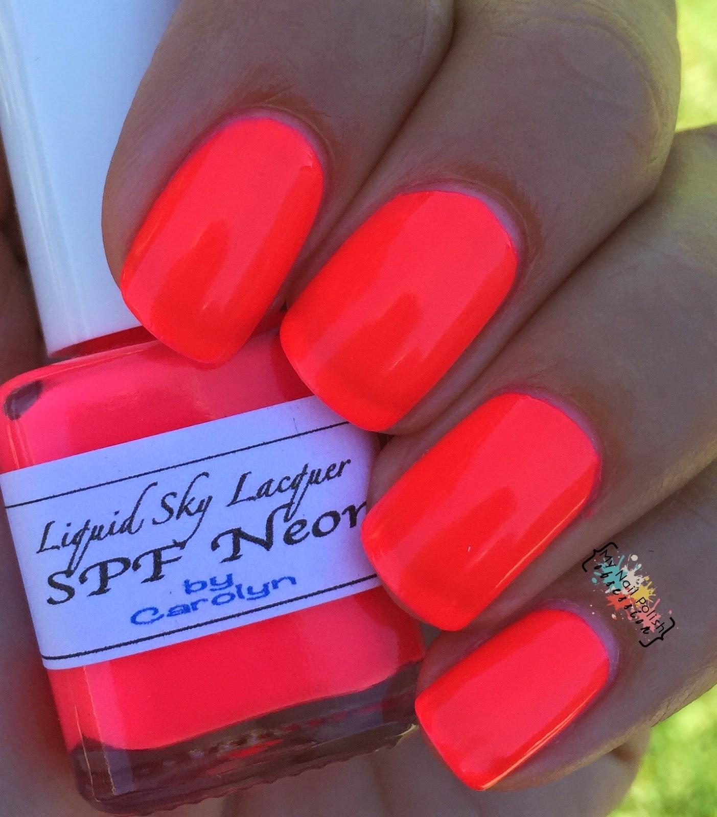 Liquid Sky Lacquer SPF Neon