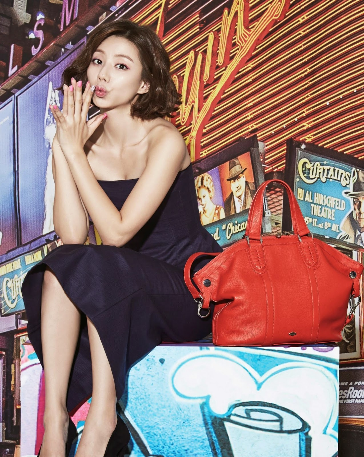 Park Soo Jin - orYANY Fall Winter 2014