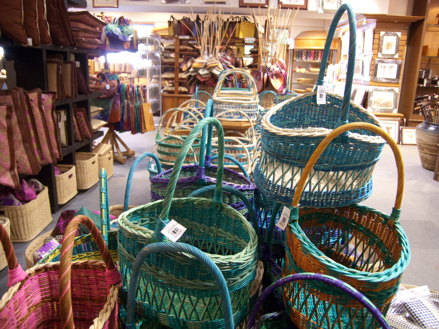 Handicraft Basketry : Karyaneka handicraft centre kl