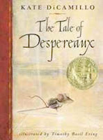 bookcover of NEWBERY WINNER Tale of Despereaux by Kate DiCamillo