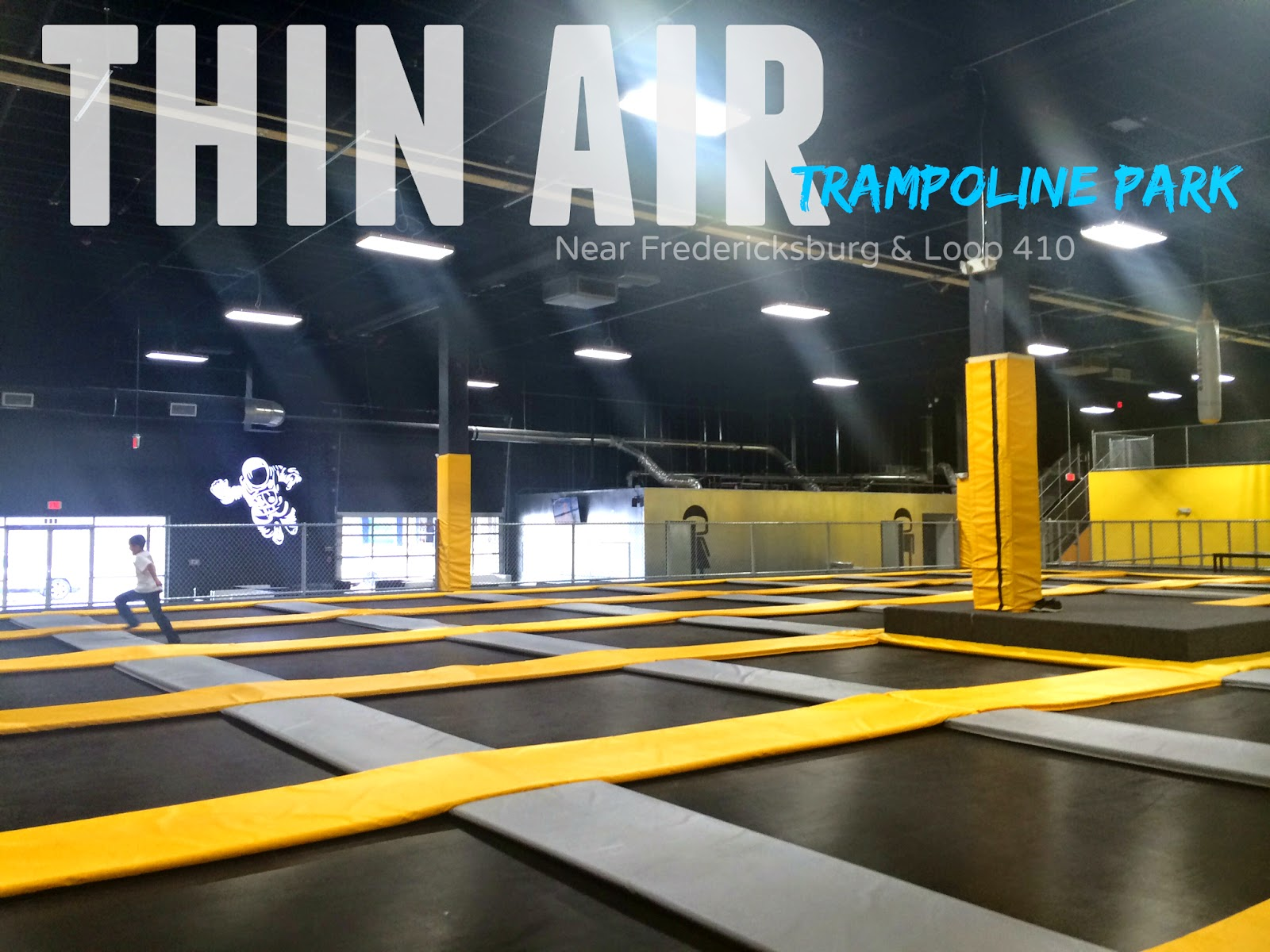 Thin Air Trampoline Park in Central San Antonio