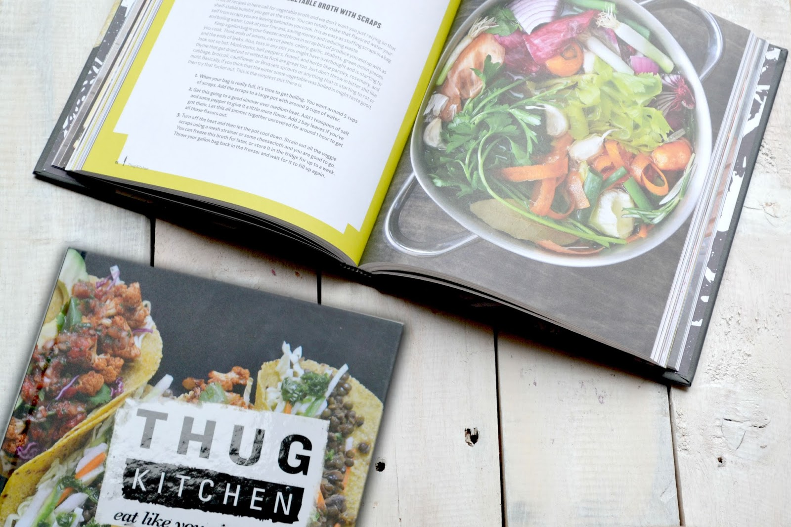 Thug Kitchen Recipe Book