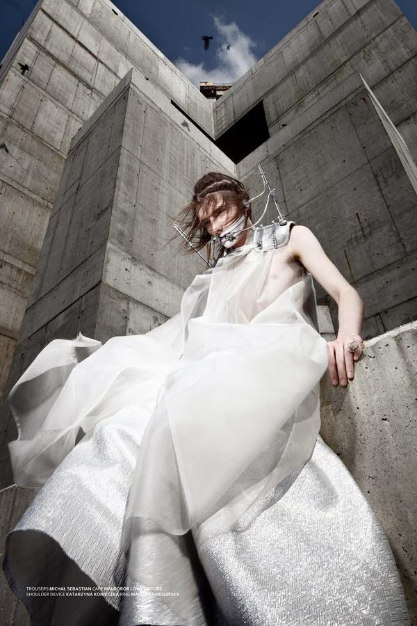 ©Katarzyna Konieczka - Head pieces and masks. Fashion