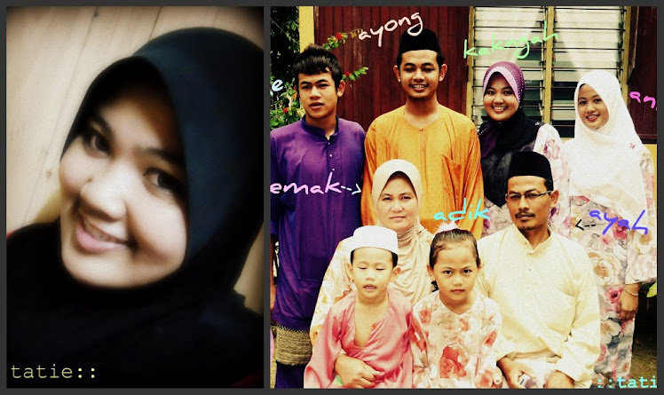 1 happy family at home =) sy & mereka...