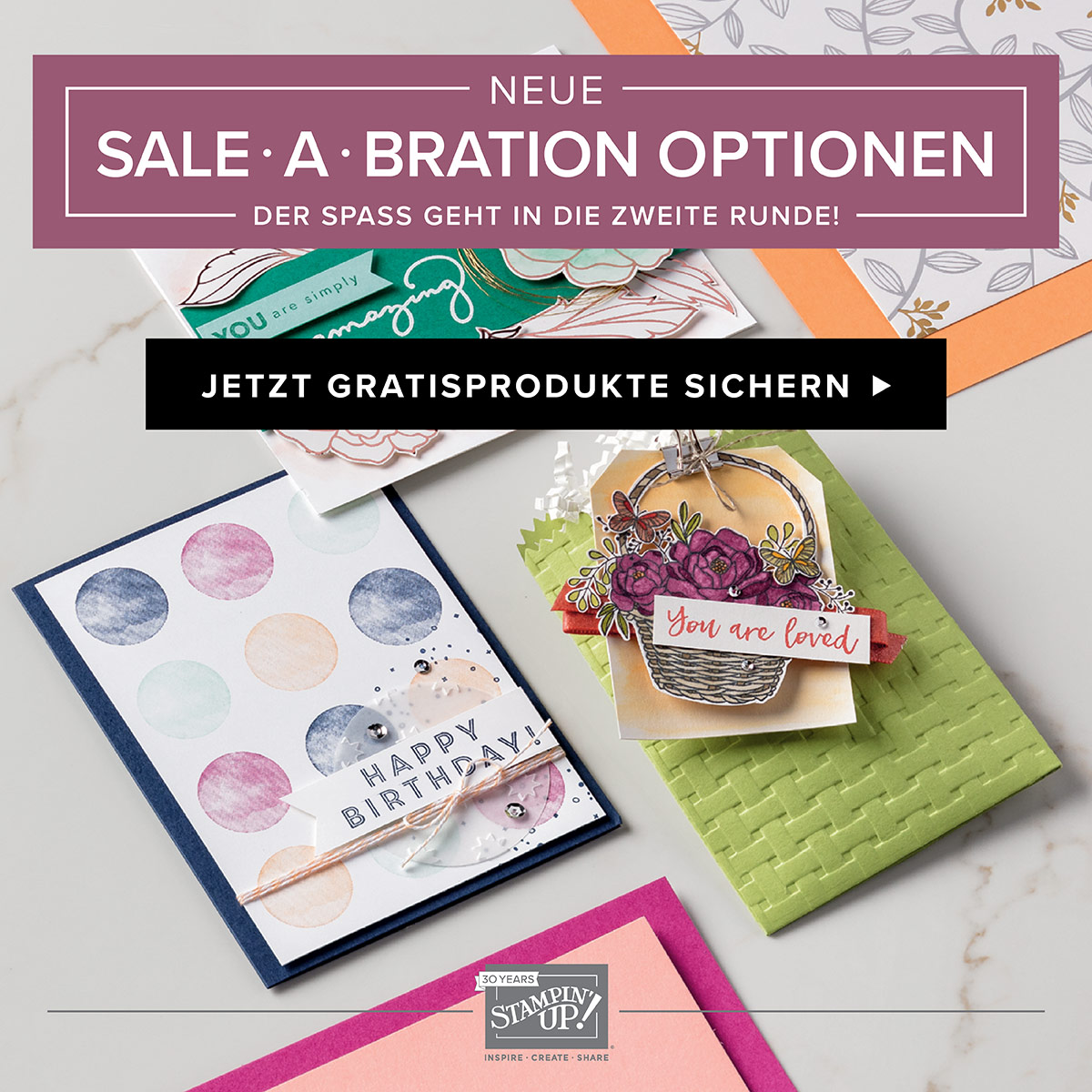 Sale-A-Bration Broschüre Teil 2