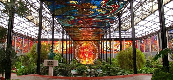 Cosmovitral Jardín Botánico, Estado de México