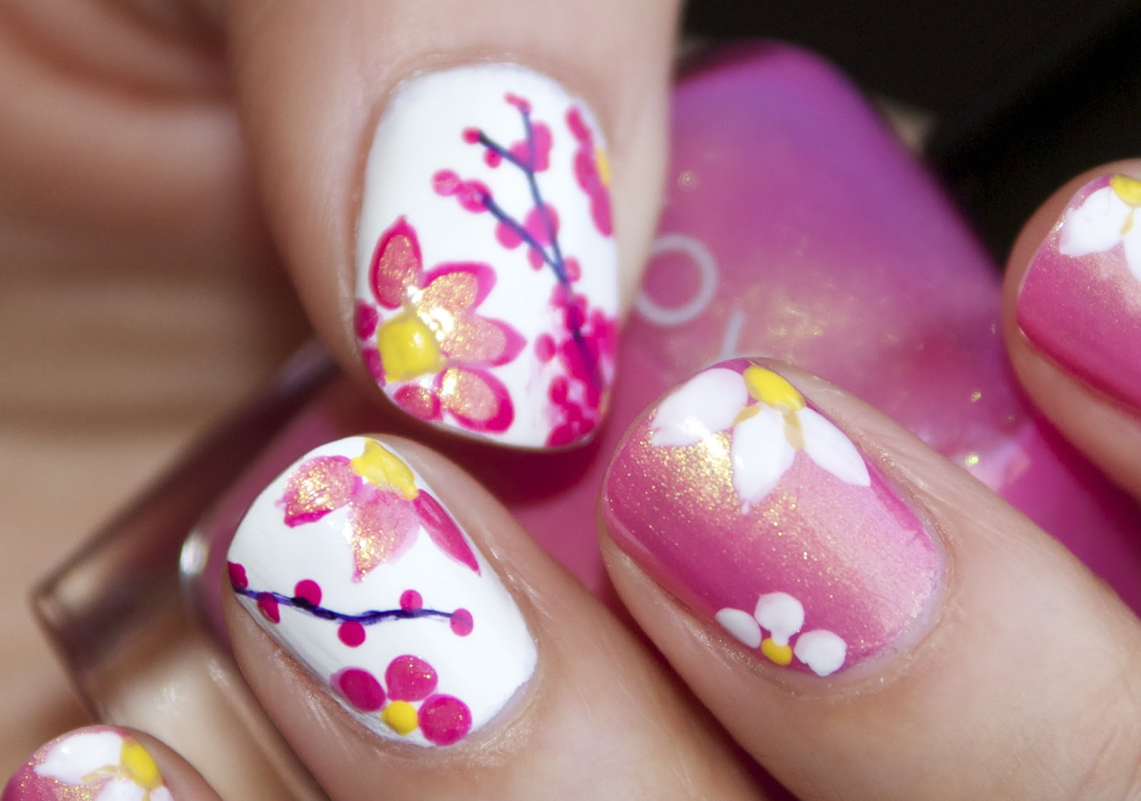 Marker Nail Art Image Collections Easy Nail Designs For Beginners
