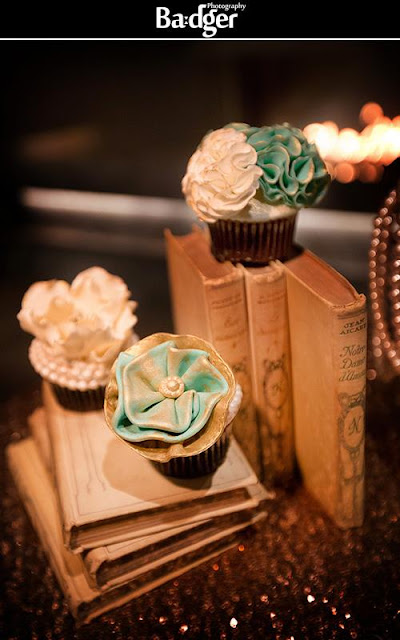 Gatsby inspired cupcakes by Cupcake et Macaron Montreal