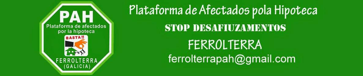 Plataforma de Afectados pola Hipoteca Ferrolterra
