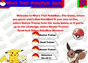 Quien es ese Pokemon online