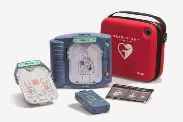 Exotic has invested in an AED to ensure our divers safety