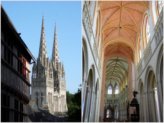 Quimper - cathedrale Saint Corentin