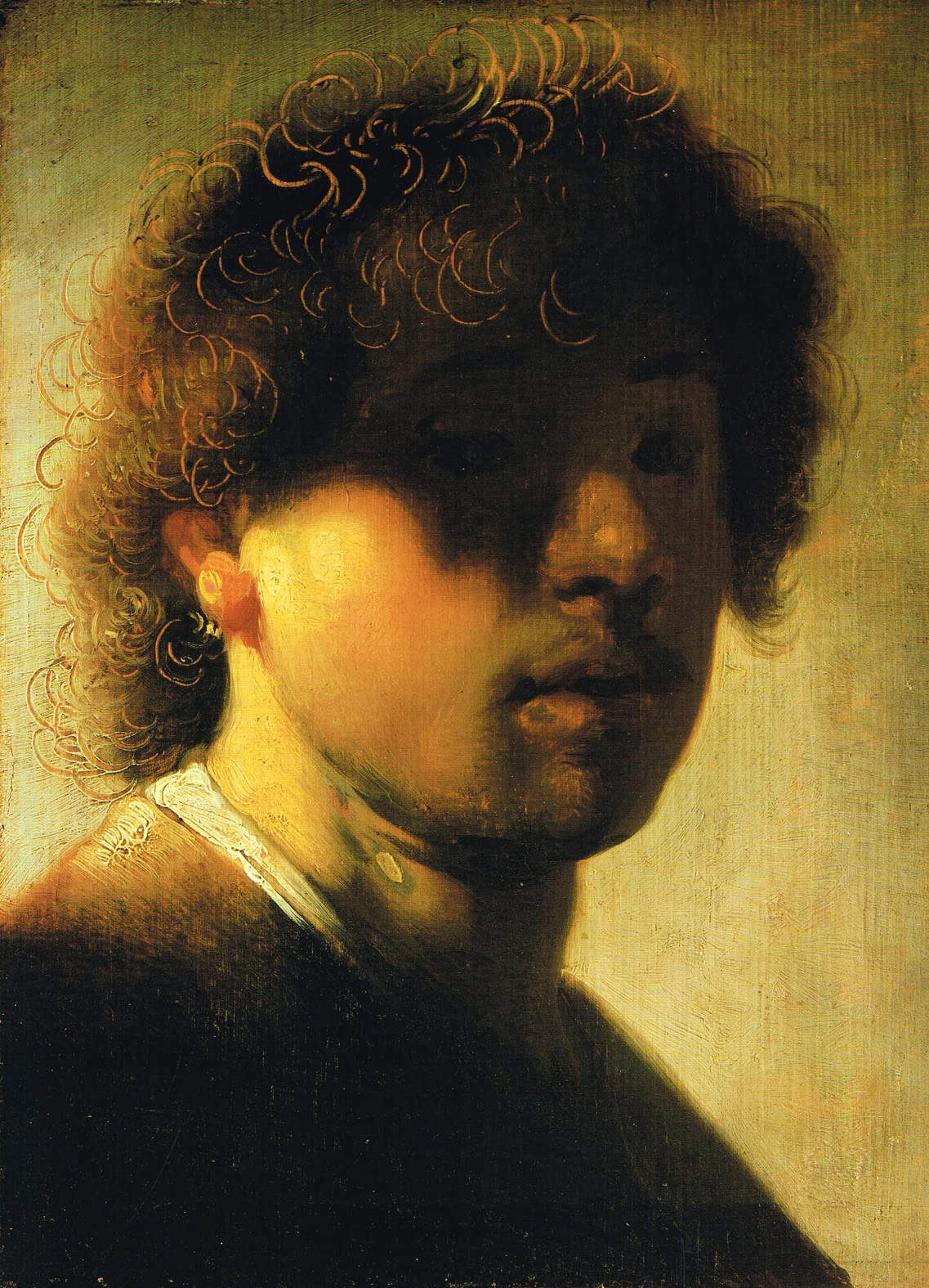 rembrandt self portrait essay Rembrandt (1606-1669) rembrandt van rijn was born in leiden,  rembrandt van rijn, self-portrait with mouth open,  a group portrait of one of the city's militia.