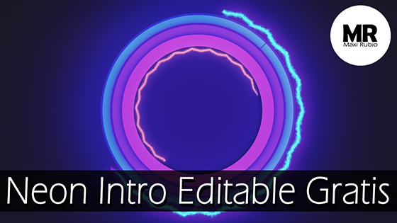 Intro editable after effects