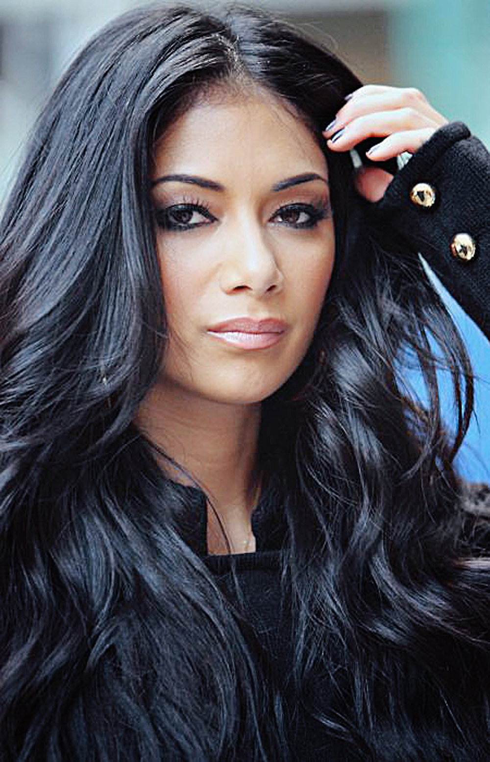 Nicole Scherzinger Long Curly Hairstyles 01