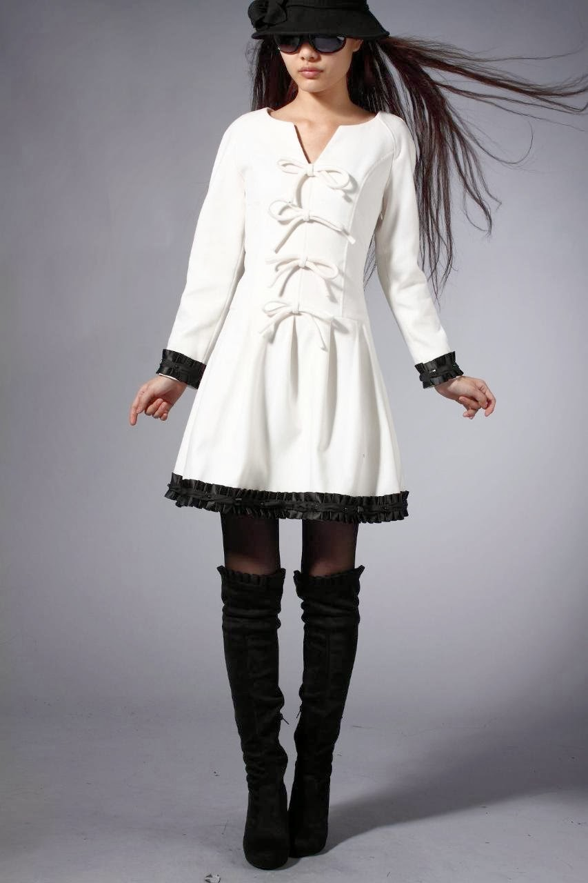 Womens fashion clothing winter dresses