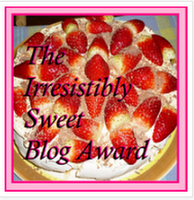 The Irresistibly Sweet Blogger Award