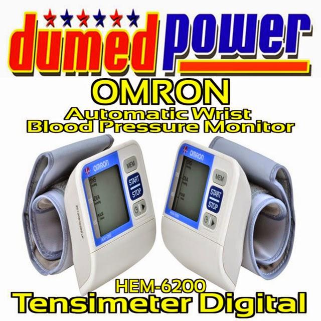 Tensimeter Digital Model Jam Tangan Omron HEM-6200