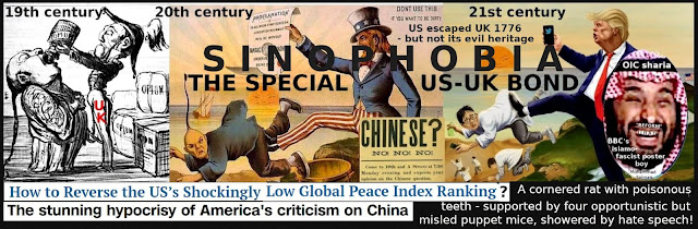 US' and its puppets' Sinophobia campaign rooted in UK's appalling opium wars against Chinese people