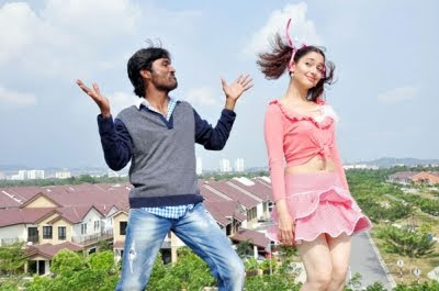 Dhanush and Tammanna in Vengai new stills