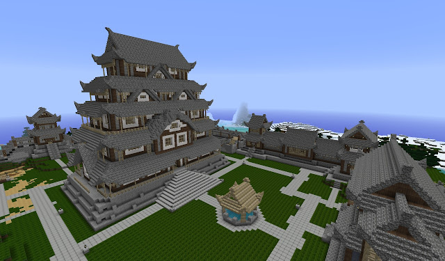 Chinese epic kingdom castle build inspiration