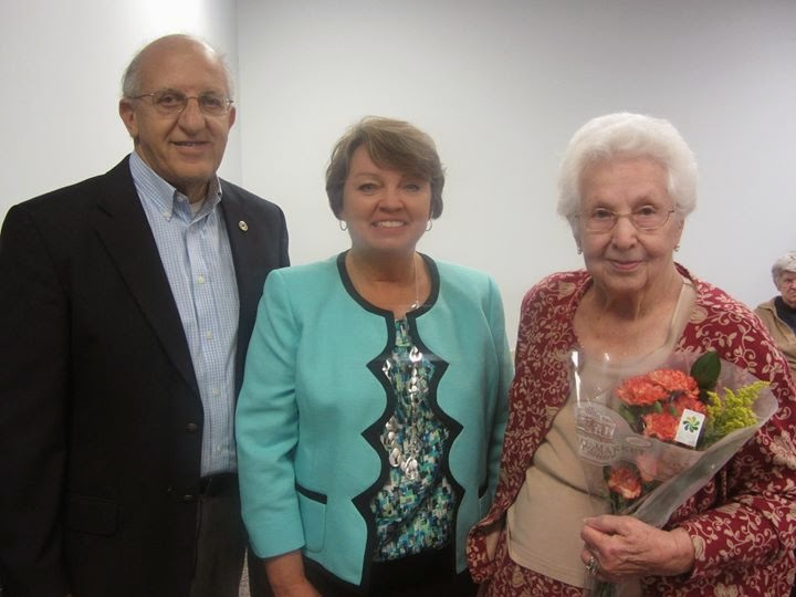Senator Ritchie's Senior Fair Honors Mabel Walker