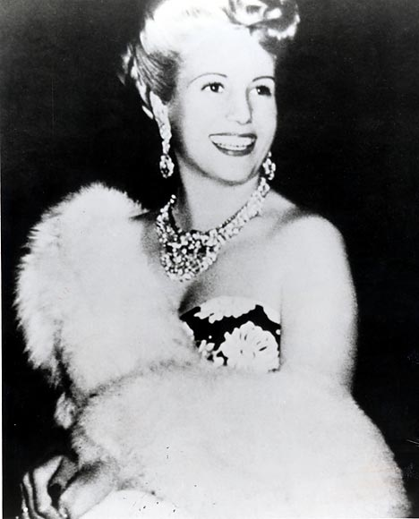 eva peron death photos