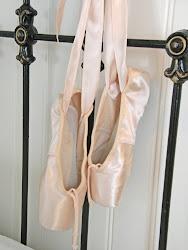 Mina gamla fina balettskor...