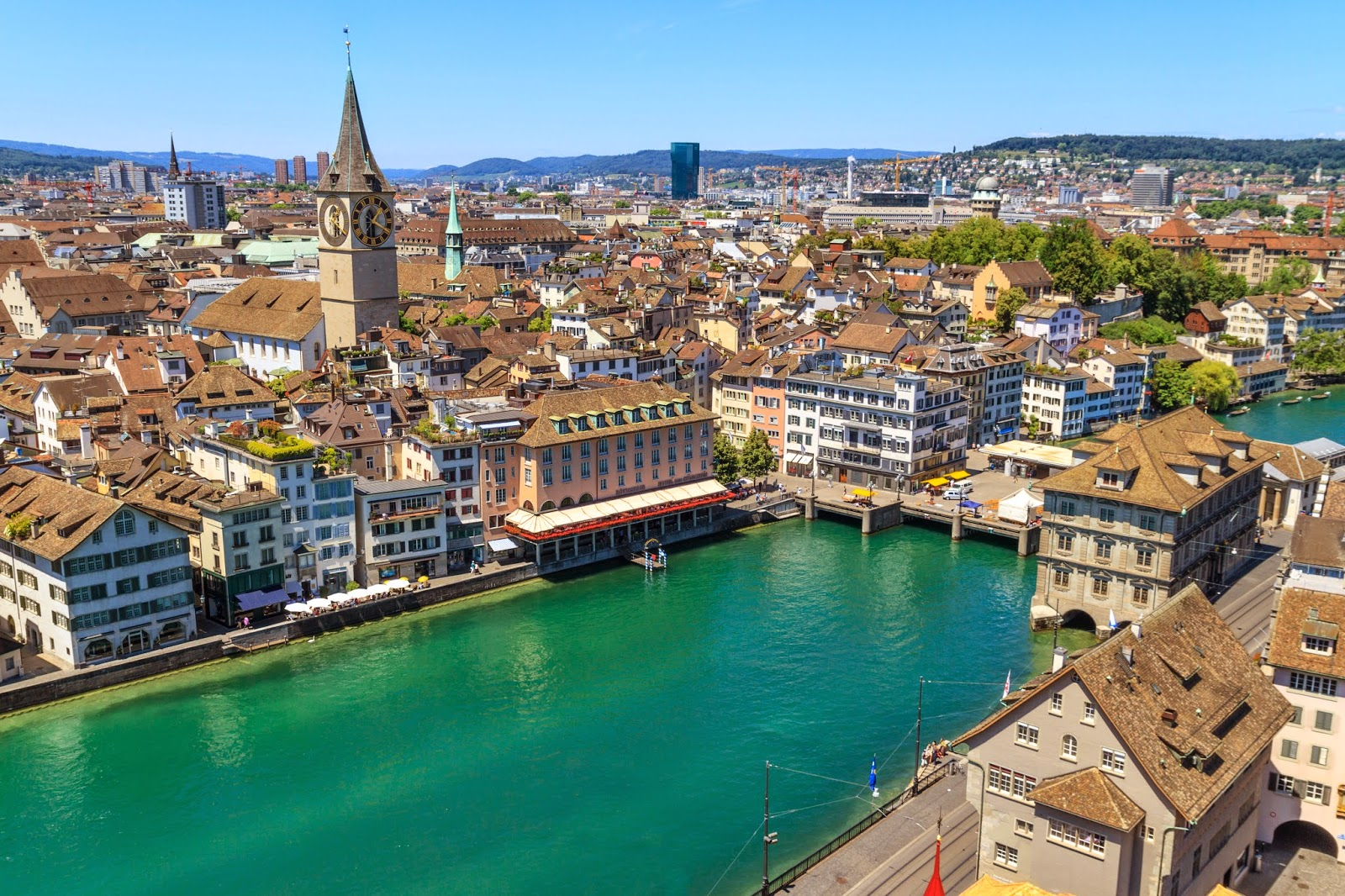 The most beautiful landmarks in Zurich