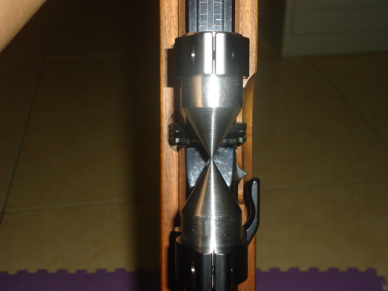 Senapan angin plus cara pemasangan scope pada senapan