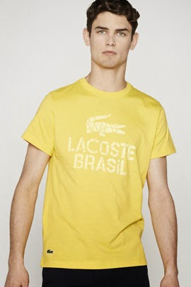 camiseta Lacoste Rio colección mundial Brasil
