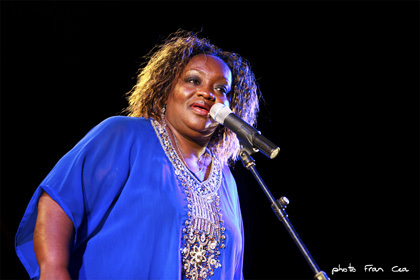 Sharrie Williams festival blues bejar