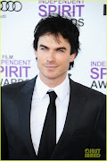 Ian smolders on the red carpet at the Spirit awards 2012