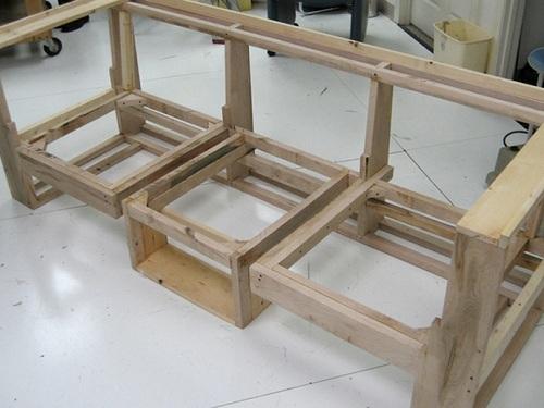 Arquitectura u2022 Diseu00f1o: Sofa-mesa modular Slot