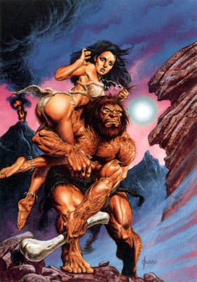Neanderthal cave women attacks her man for domination 2