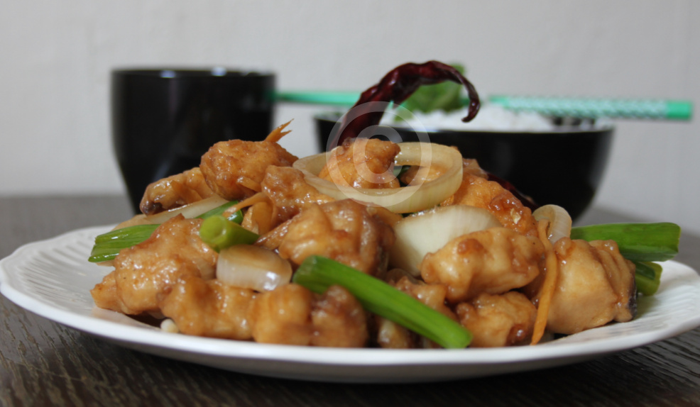 My cookingdom stir fried fish in oyster sauce for Fish sauce stir fry
