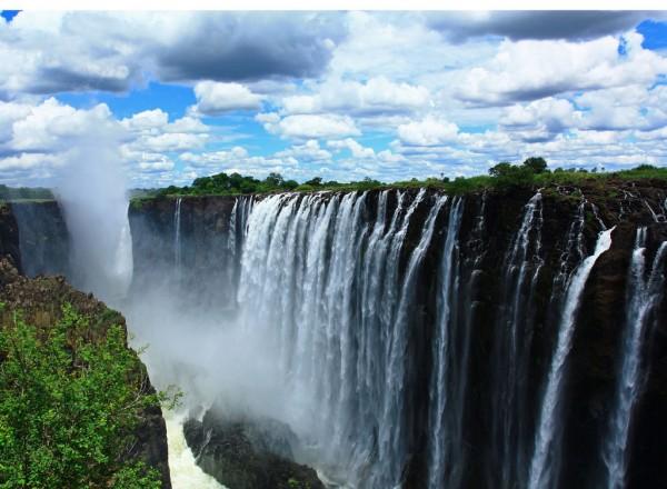 Waterfalls in Africa Victoria Falls